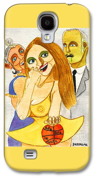 Spanish Girl With Her Grandparents Galaxy S4 Case by Don Pedro De Gracia