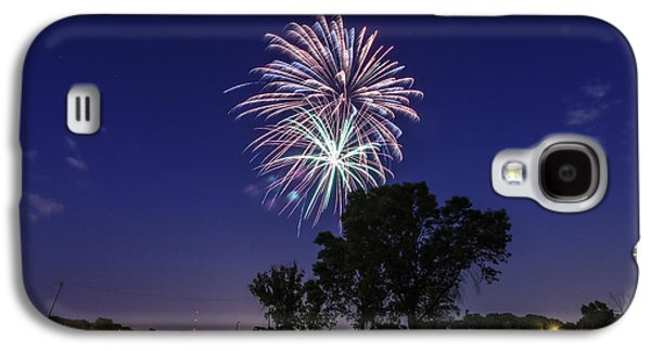 4th July Galaxy S4 Cases - Spark and Bang Galaxy S4 Case by CJ Schmit