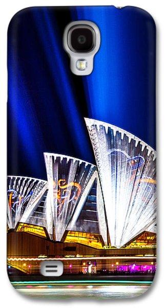 Sparkling Blades Galaxy S4 Case by Az Jackson