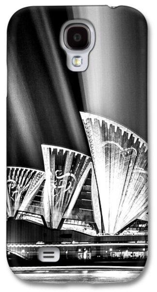 Sparkling Blades Bw Galaxy S4 Case by Az Jackson
