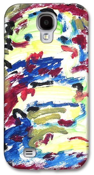 Spatial Outwardness Galaxy S4 Case by Esther Newman-Cohen