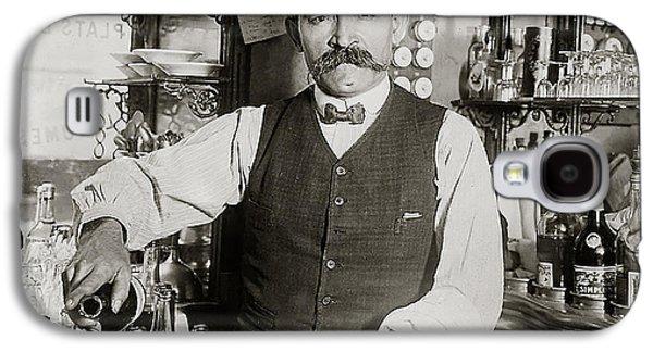 Speakeasy Bartender Galaxy S4 Case by Jon Neidert