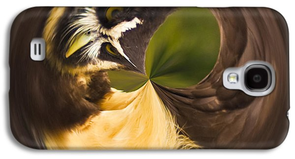 Galaxy S4 Case featuring the photograph Spectacled Owl Orb by Bill Barber