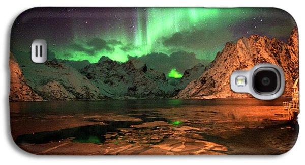 Spectacular Night In Lofoten 1 Galaxy S4 Case