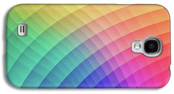 Spectrum Bomb Fruity Fresh Hdr Rainbow Colorful Experimental Pattern Galaxy S4 Case by Philipp Rietz