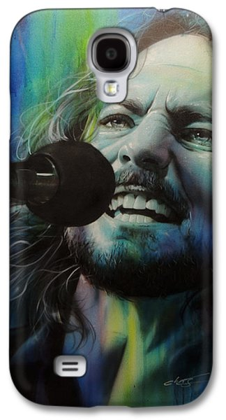 Pearl Jam Galaxy S4 Case - Spectrum Of Vedder by Christian Chapman Art