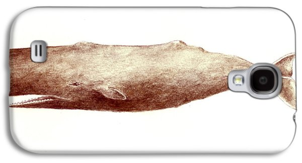 Sperm Whale Galaxy S4 Case by Michael Vigliotti