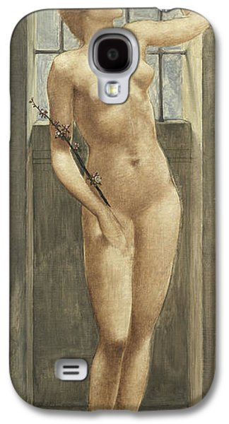 Spes, Or Hope In Prison Galaxy S4 Case by Edward Coley Burne-Jones