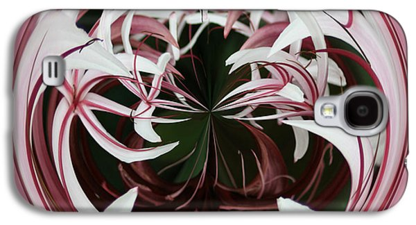 Galaxy S4 Case featuring the photograph Spider Lily Orb by Bill Barber