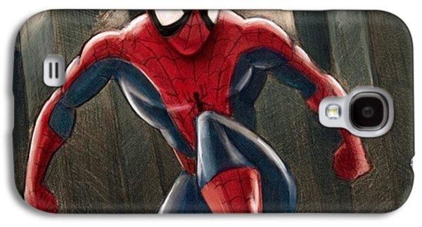 Amazing Galaxy S4 Case - Spider-man by Tony Santiago