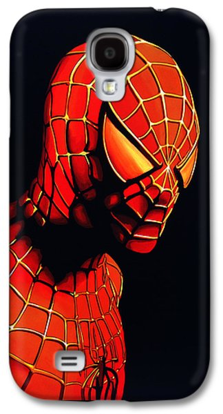 Spiderman Galaxy S4 Case by Paul Meijering