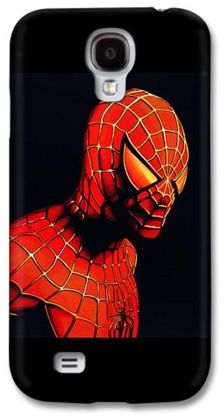 Spiderman Galaxy S4 Case by Paul Meijering