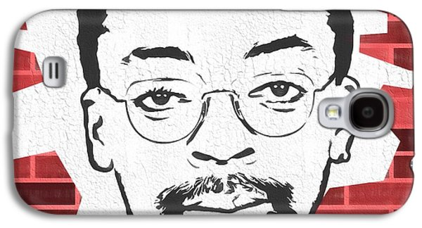 Spike Lee Graphic Tribute Galaxy S4 Case by Dan Sproul