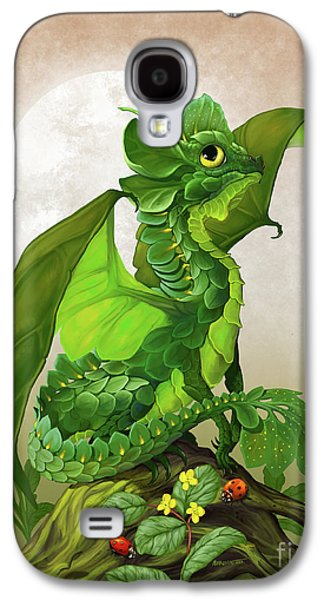 Spinach Dragon Galaxy S4 Case by Stanley Morrison
