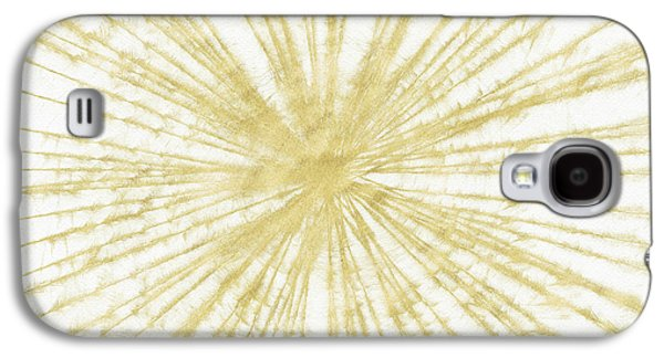 Spinning Gold- Art By Linda Woods Galaxy S4 Case by Linda Woods