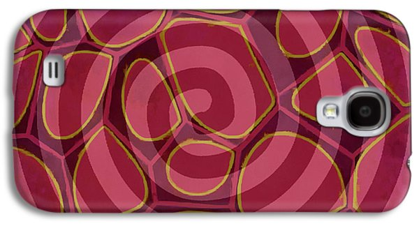 Spiral 2 - Abstract Painting Galaxy S4 Case by Edward Fielding