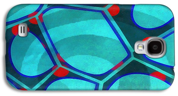 Spiral 5 - Abstract Painting Galaxy S4 Case by Edward Fielding