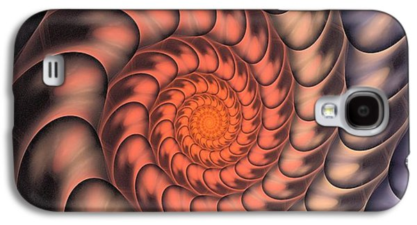 Spiral Shell Galaxy S4 Case