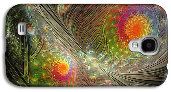 Spiral Space Galaxy S4 Case