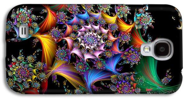 Spirals And More Spirals Galaxy S4 Case by Peggi Wolfe
