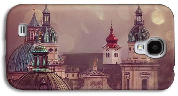 Spires Of Salzburg  Galaxy S4 Case by Carol Japp