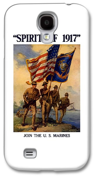 Spirit Of 1917 - Join The Us Marines  Galaxy S4 Case