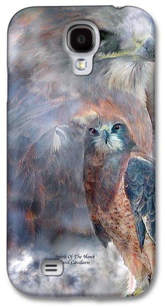 Spirit Of The Hawk Galaxy S4 Case by Carol Cavalaris