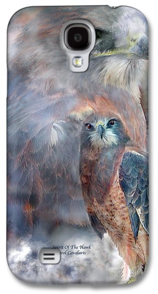 Spirit Of The Hawk Galaxy S4 Case by Carol Cavalaris