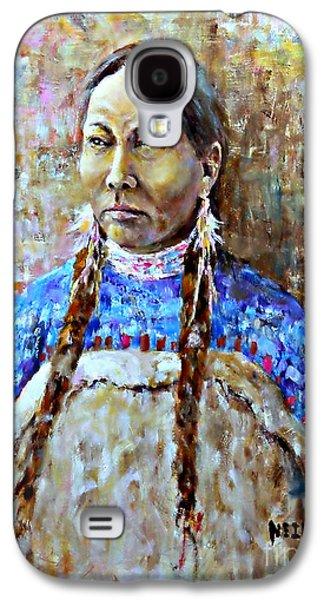 Spirit Of The Lakota Galaxy S4 Case by Neil Jones