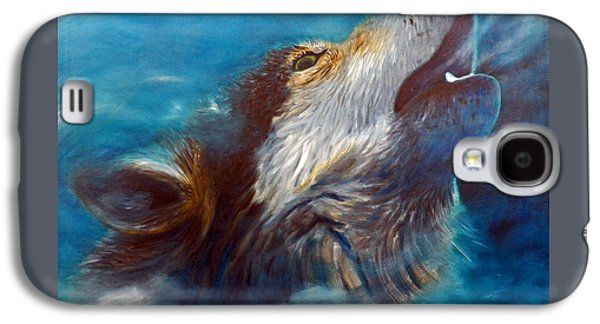 Spirit Of The Wolf Galaxy S4 Case by Brian  Commerford
