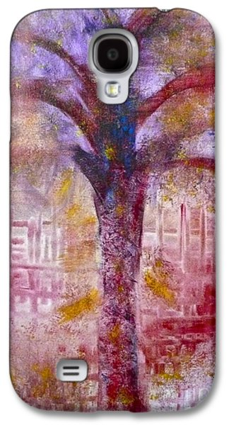 Galaxy S4 Case featuring the painting Spirit Tree by Claire Bull