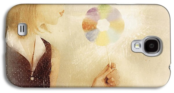 Spiritual Woman Channelling Her Soul Energy Galaxy S4 Case by Jorgo Photography - Wall Art Gallery