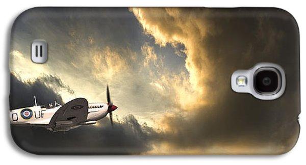 Spitfire Galaxy S4 Case by Meirion Matthias