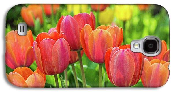 Splash Of April Color Galaxy S4 Case by Bill Pevlor