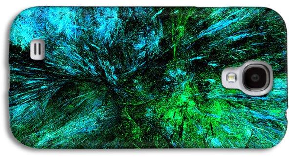 Splash Of Nature Abstract Grunge Galaxy S4 Case