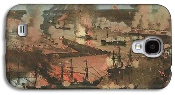 Splendid Naval Triumph Of The Mississippi Galaxy S4 Case by American School