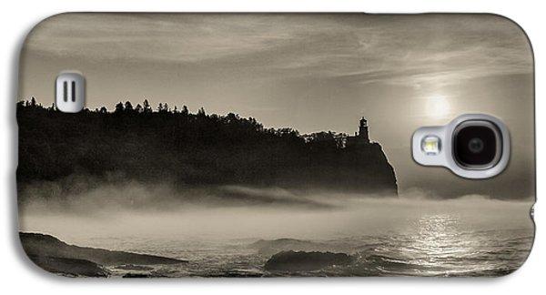 Split Rock Lighthouse Emerging Fog Galaxy S4 Case