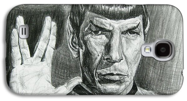 Spock Galaxy S4 Case by Michael Morgan