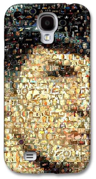 Spock Star Trek Mosaic Galaxy S4 Case