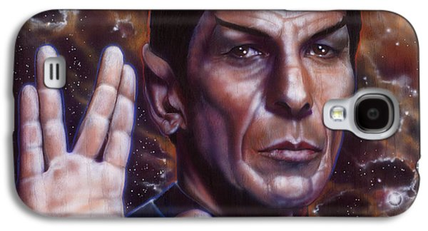Spock Galaxy S4 Case by Tim  Scoggins