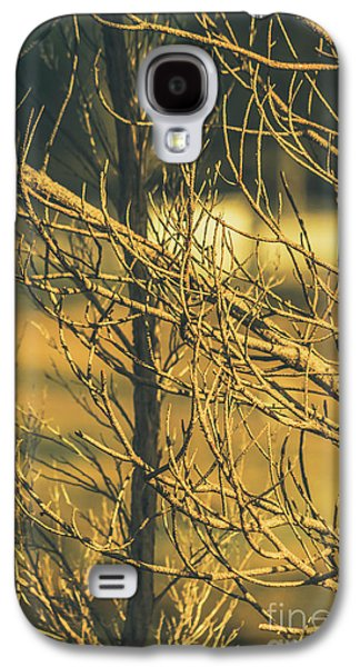 Spooky Country House Obscured By Vegetation  Galaxy S4 Case