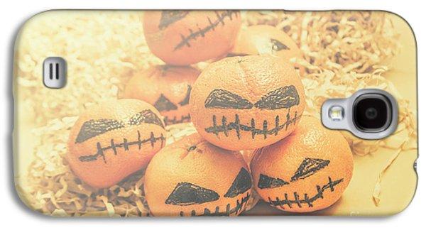 Spooky Halloween Oranges Galaxy S4 Case by Jorgo Photography - Wall Art Gallery
