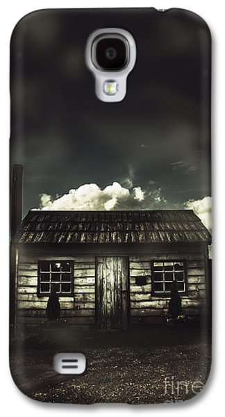 Spooky Old Abandoned House In Dark Forest Galaxy S4 Case
