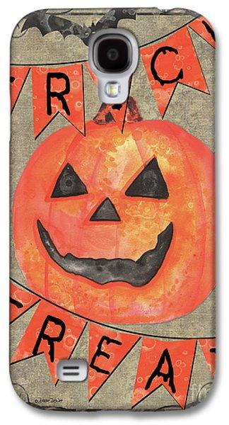 Spooky Pumpkin 1 Galaxy S4 Case by Debbie DeWitt