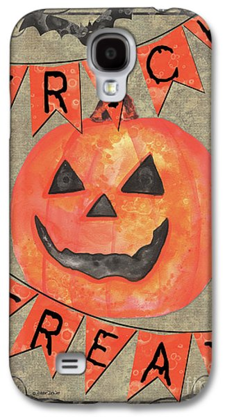 Spooky Pumpkin 1 Galaxy S4 Case