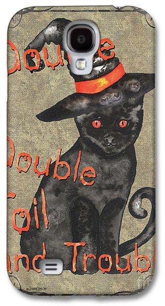 Spooky Pumpkin 3 Galaxy S4 Case by Debbie DeWitt