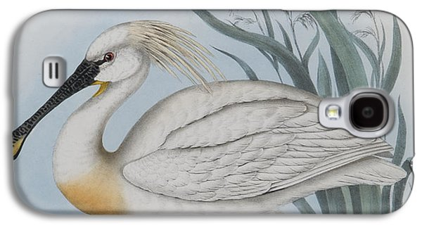 Spoonbill Galaxy S4 Case - Spoonbill by John Gould