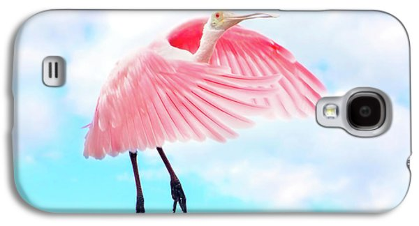 Spoonbill Launch Galaxy S4 Case by Mark Andrew Thomas