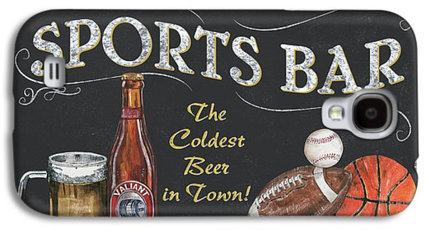 Sports Galaxy S4 Case - Sports Bar by Debbie DeWitt