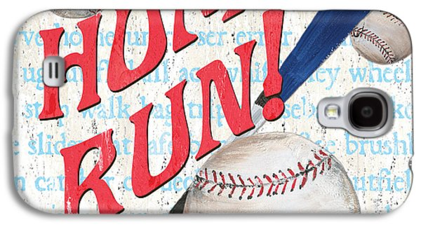 Sports Fan Baseball Galaxy S4 Case by Debbie DeWitt